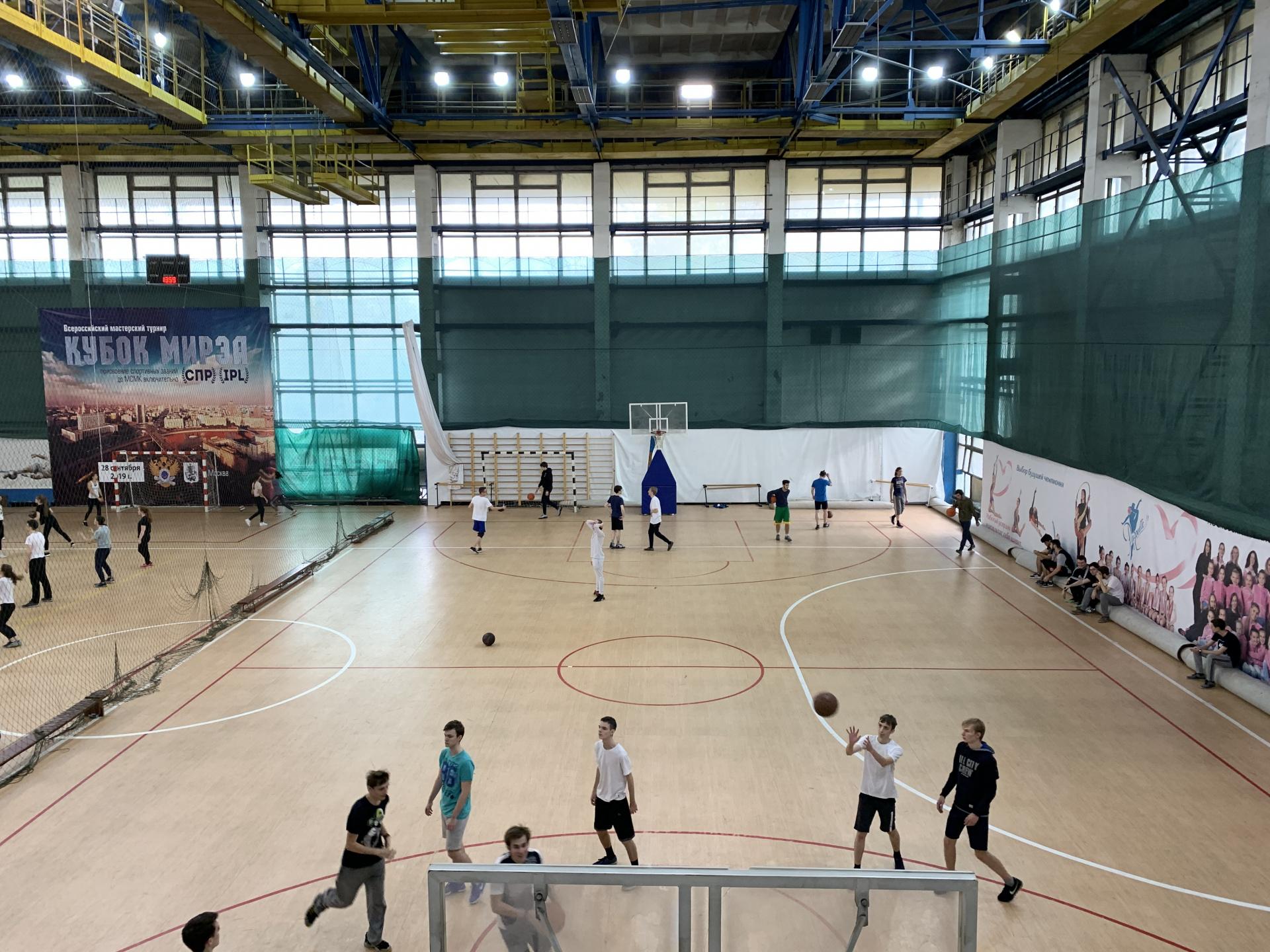 Баскетбольная площадка пр.Вернадского78