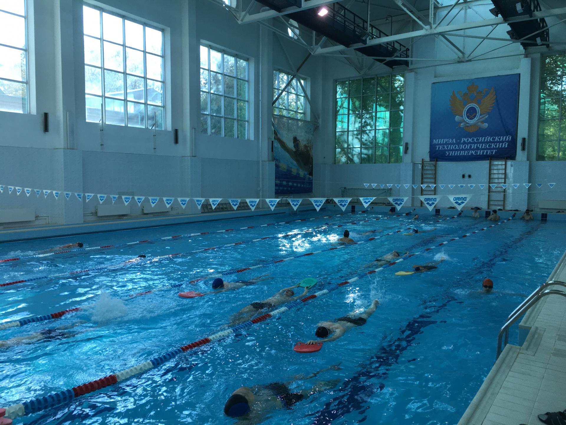 Плавательный бассейн ул.Стромынка20